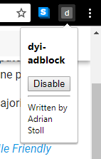 Create your own adblocker - an introduction to writing